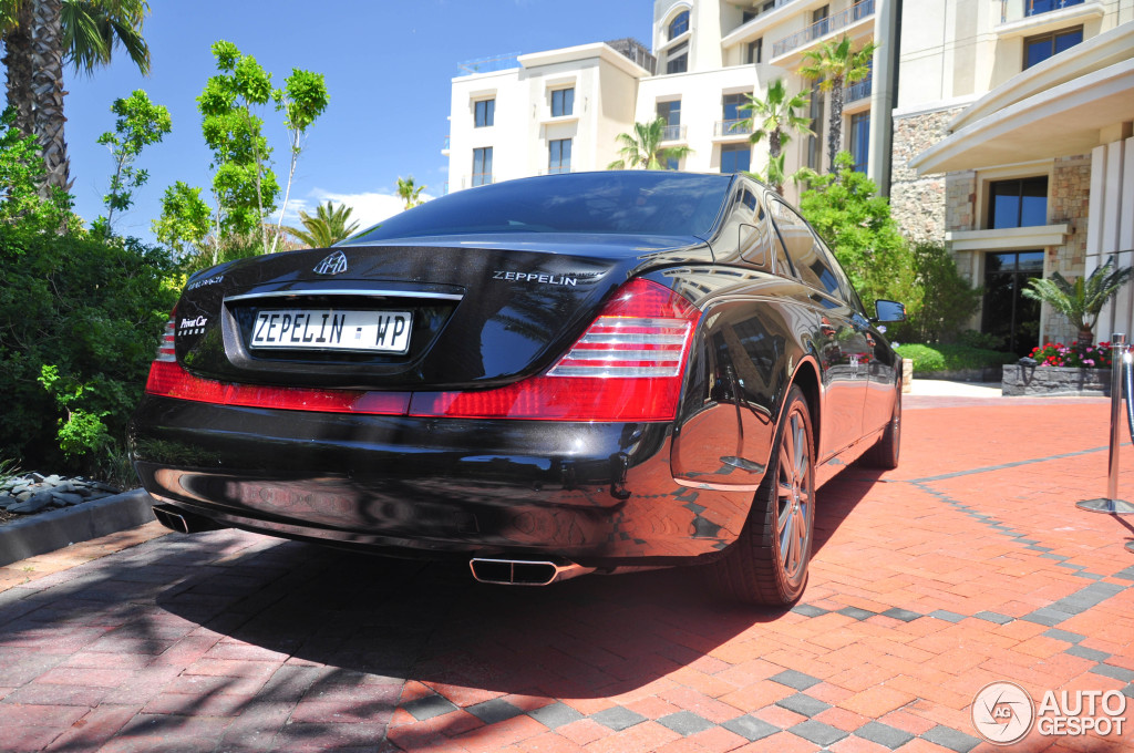 Maybach 62 S Zeppelin 5