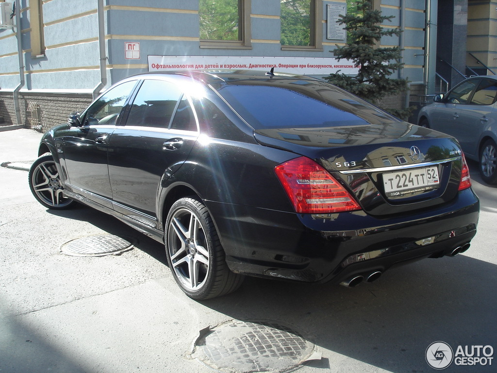 Mercedes Benz S 63 Amg W221 2010 11 January 2012