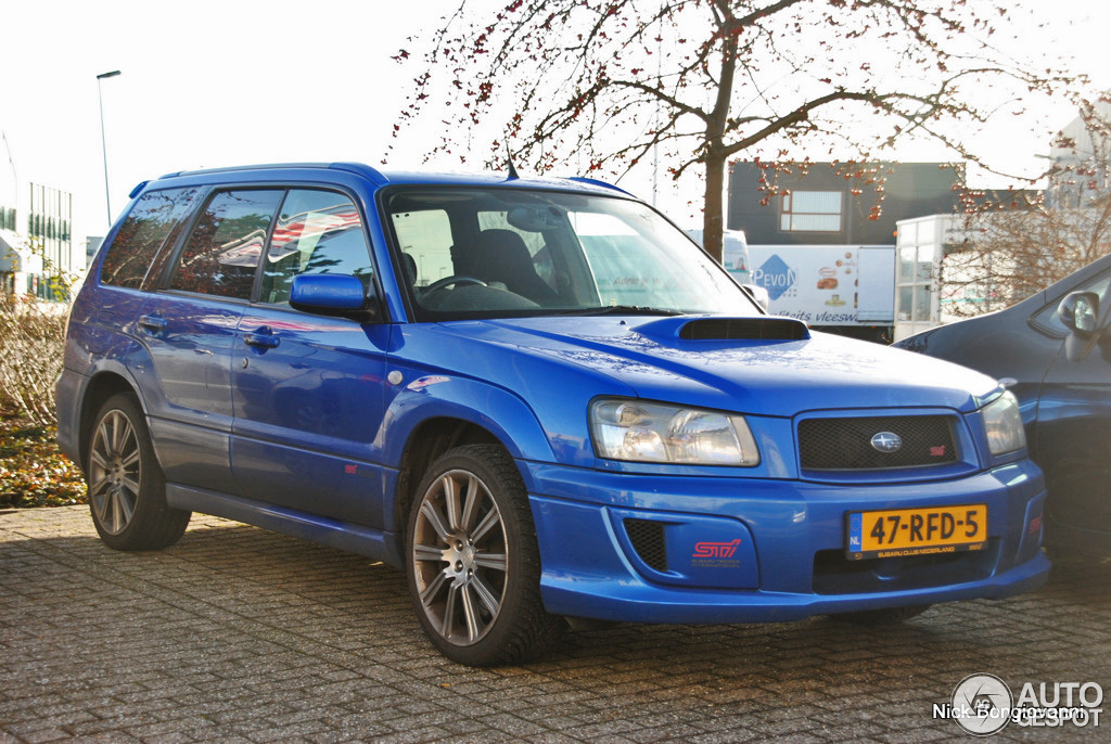 Subaru forester sti 16 januari 2012 autogespot