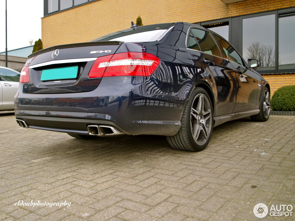 Mercedes-Benz E 63 AMG W212 V8 Biturbo 6