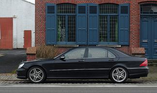 奔驰W220后备箱只能开启一半,不能全开的同步方法
