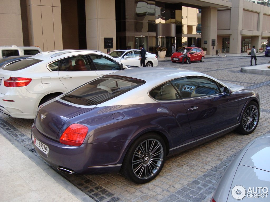 Bentley Continental Gt Speed Series 51 22 February 2012