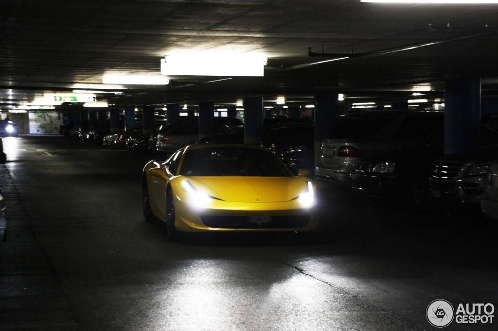Ferrari 458 Spider 4