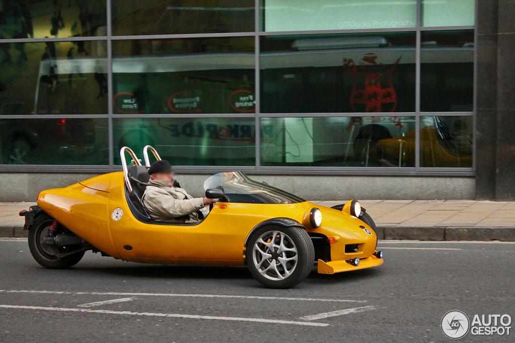 3 Wheeled Sports Car >> Grinnall Scorpion III - 19 March 2012 - Autogespot
