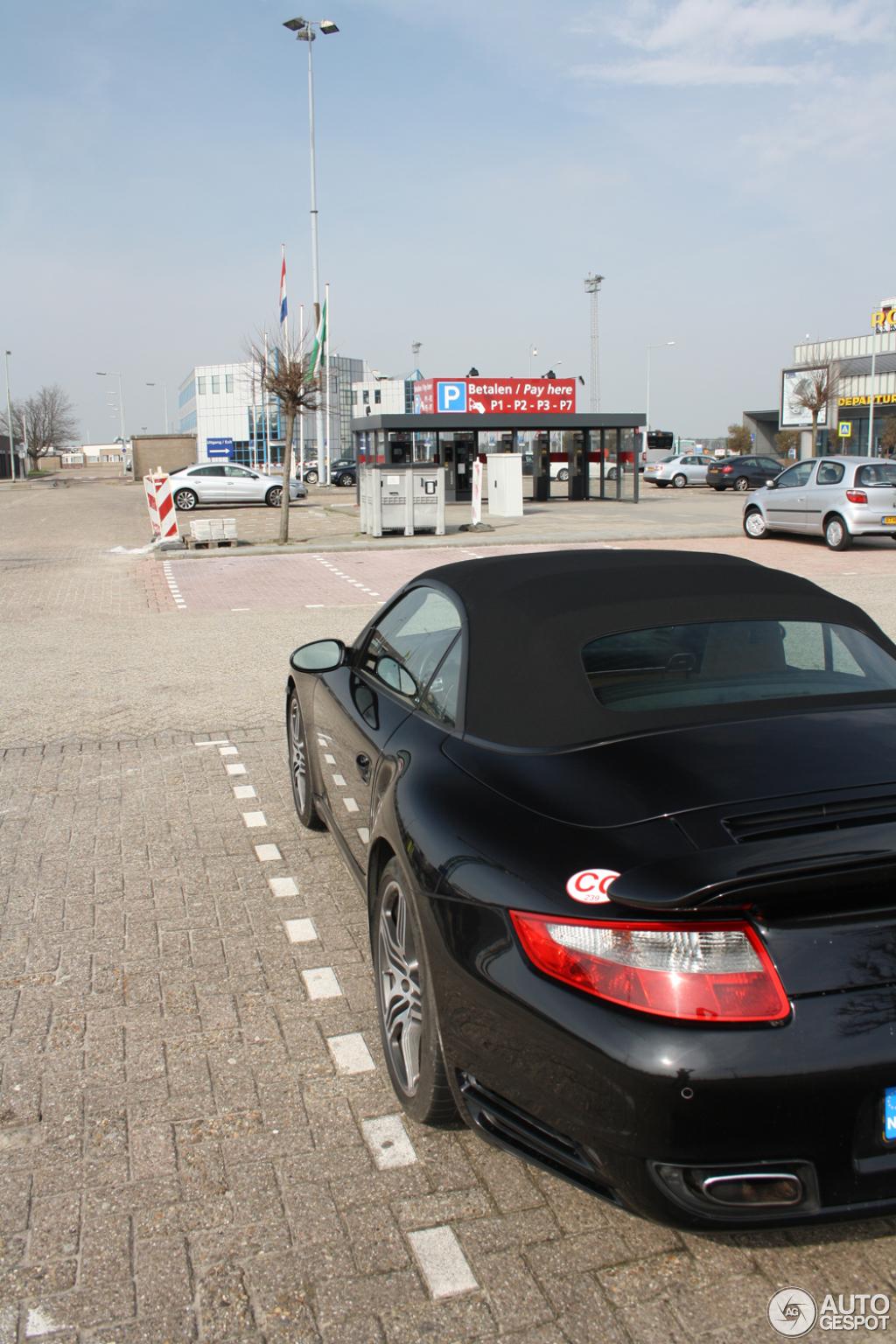 Porsche 997 Turbo Cabriolet MkI 10
