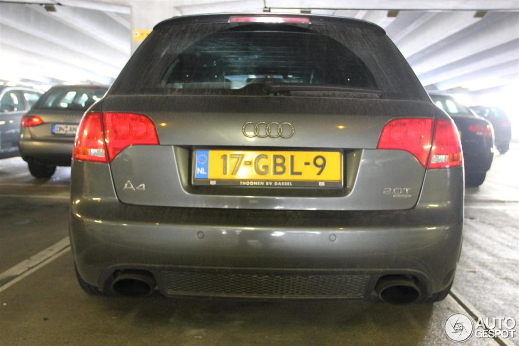 Audi RS4 Avant B7 4