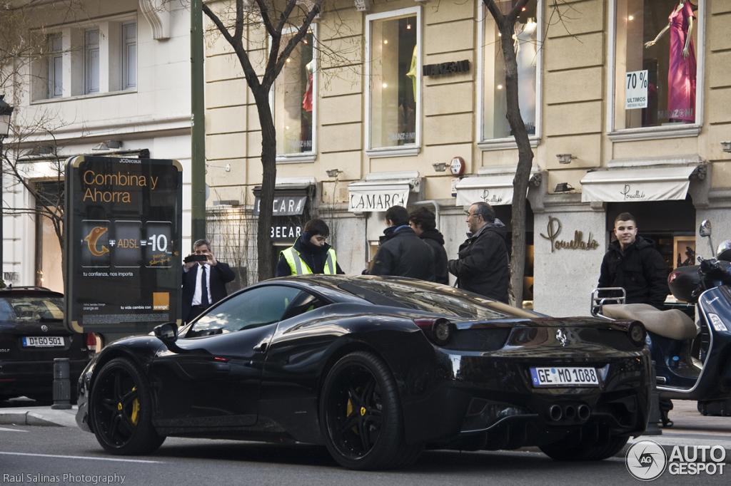 1 i ferrari 458 italia anderson germany black carbon edition 1 - Black Ferrari 458 Italia