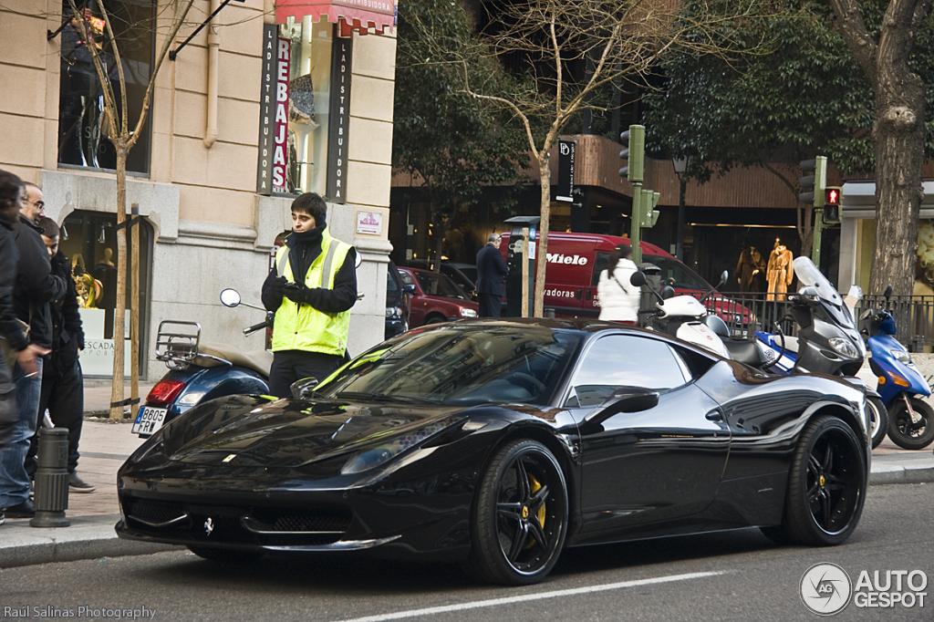 Ferrari 458 Italia Anderson Germany Black Carbon Edition ...