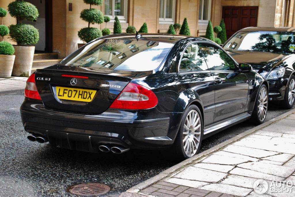Mercedes benz clk 63 amg black series 5 april 2012 for Mercedes benz clk 2012