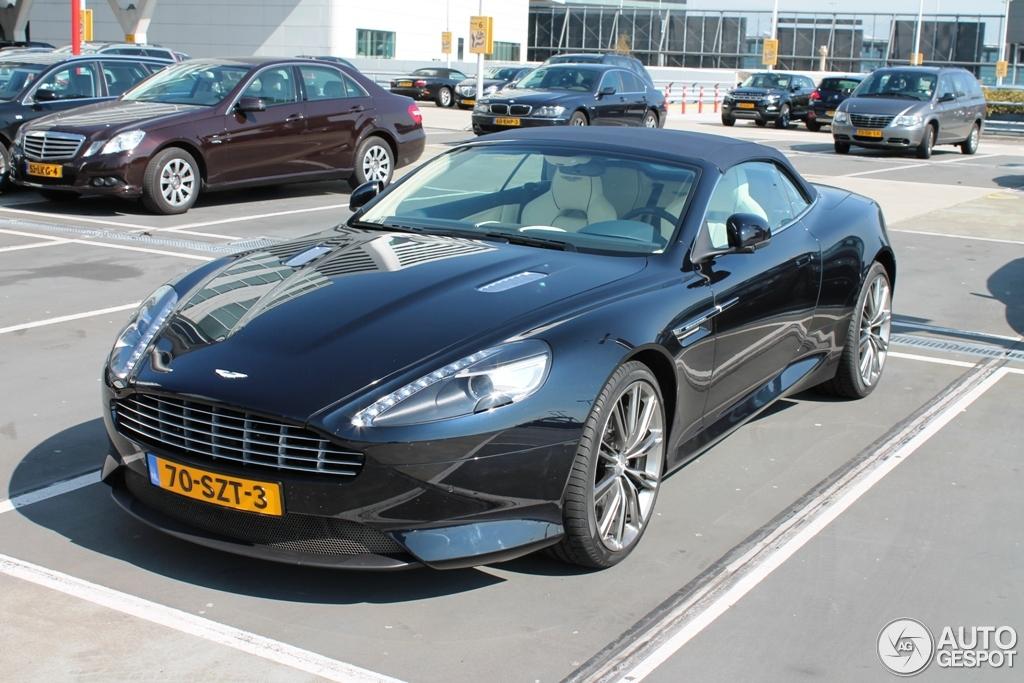 Aston Martin Virage Volante 2011 2