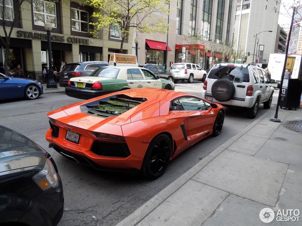 Lamborghini Aventador Lp700 4 10 April 2012 Autogespot
