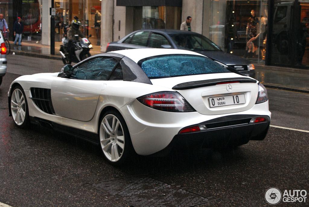 Mercedes Benz Mansory Slr Mclaren Renovatio 27 April 2012 Autogespot