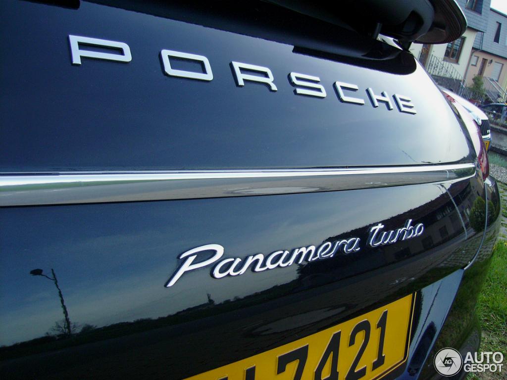 Porsche Panamera Turbo 3