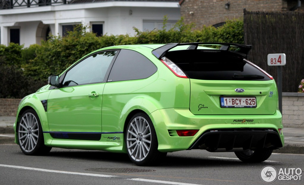 ford focus rs 400 puma speed performance edition 17 mei 2012 autogespot. Black Bedroom Furniture Sets. Home Design Ideas