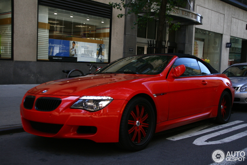 Bmw M6 E64 Cabriolet 23 May 2012 Autogespot