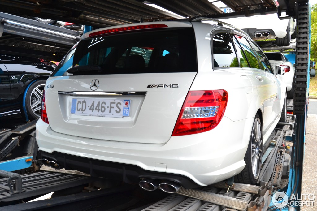 Mercedes-Benz C 63 AMG Estate 2012 4