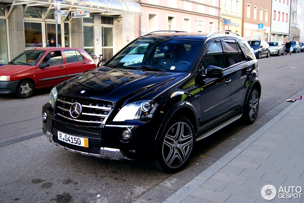 Mercedes Benz Ml 63 Amg W164 2009 28 Mai 2012 Autogespot
