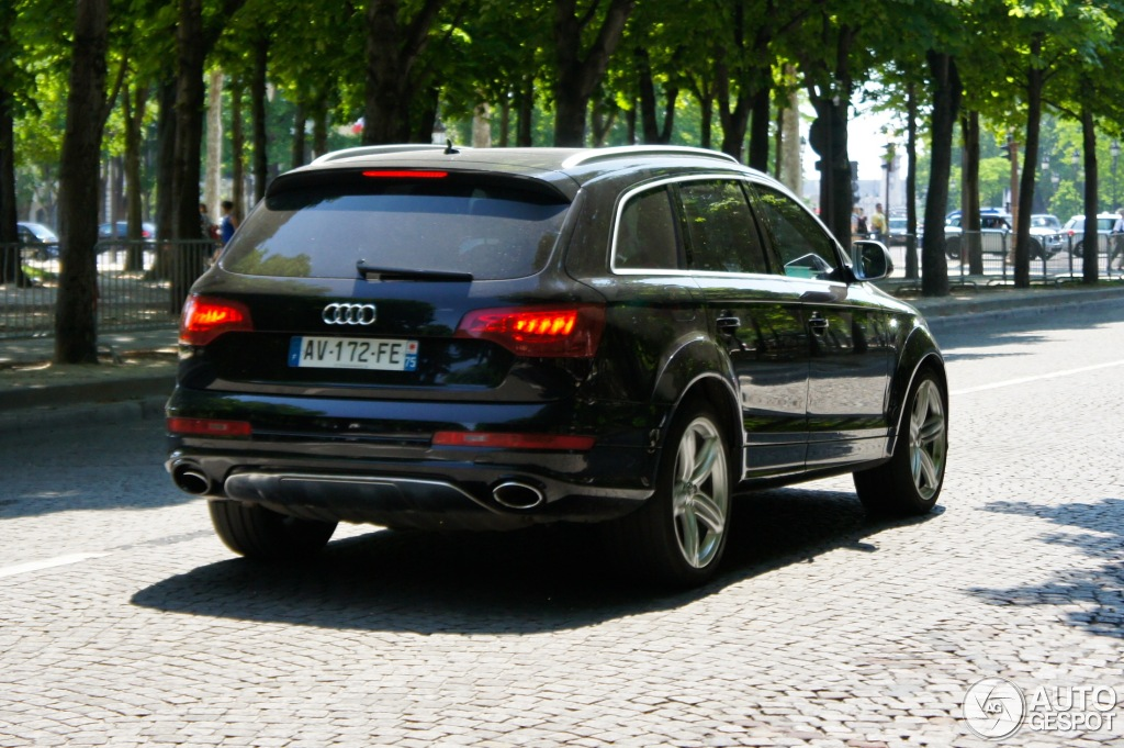 audi q7 v12 tdi 30 mai 2012 autogespot. Black Bedroom Furniture Sets. Home Design Ideas