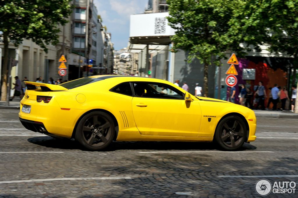 chevrolet camaro ss transformers edition 2012 1 juin 2012 autogespot. Black Bedroom Furniture Sets. Home Design Ideas