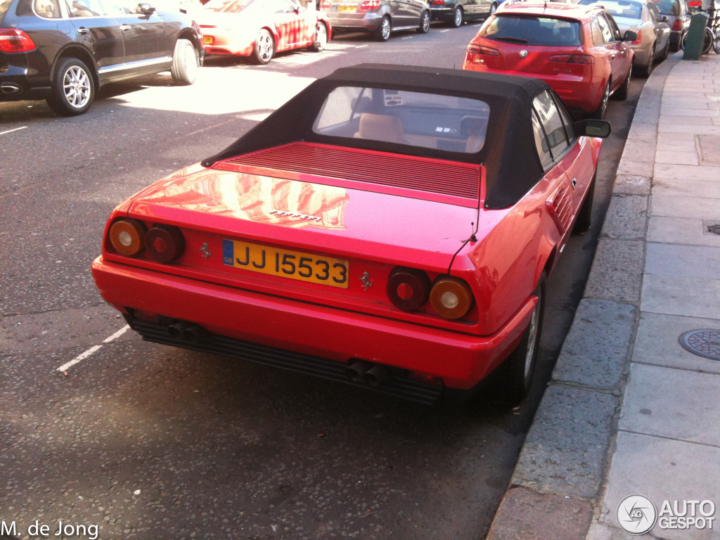 ferrari mondial 3 2 cabriolet 5 june 2012 autogespot. Black Bedroom Furniture Sets. Home Design Ideas