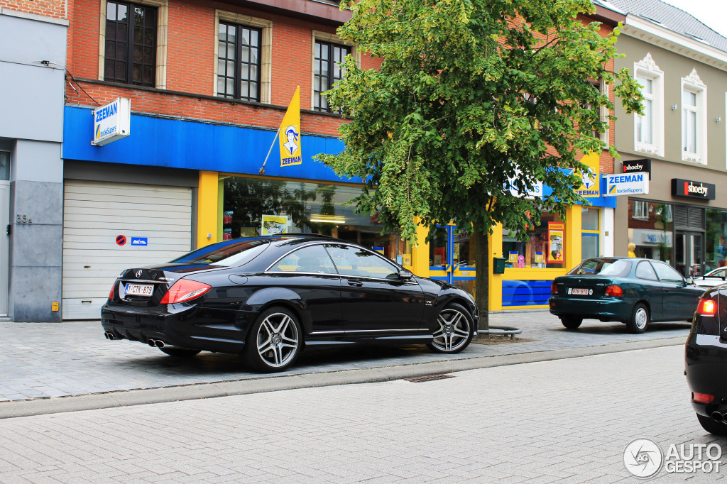Mercedes-Benz CL 65 AMG C216 6