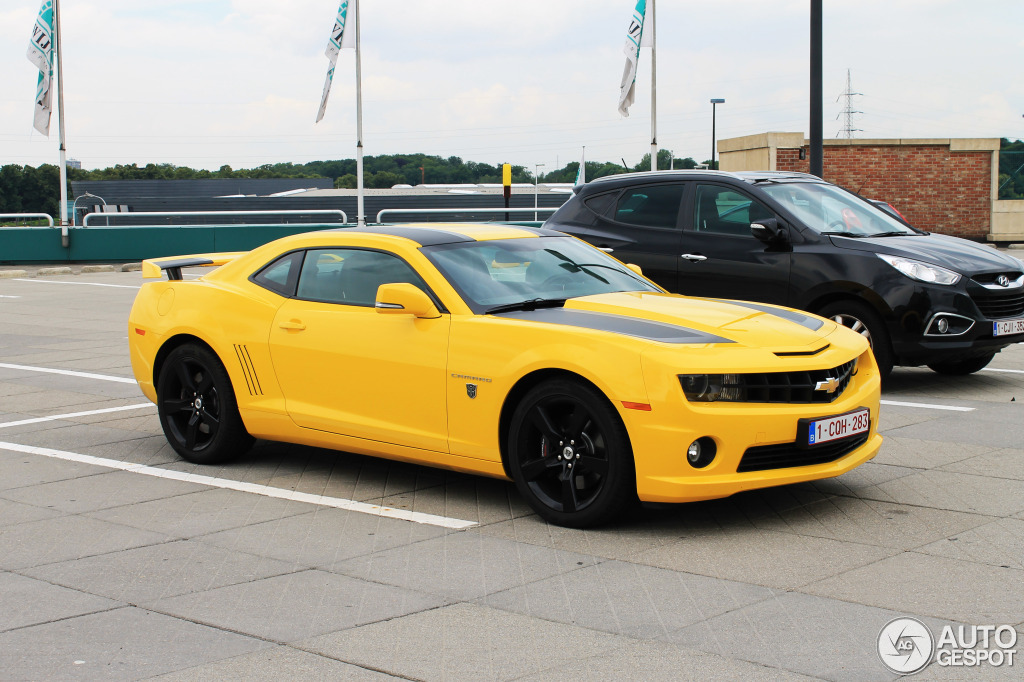 Chevrolet Camaro SS Transformers Edition 2012 19 June