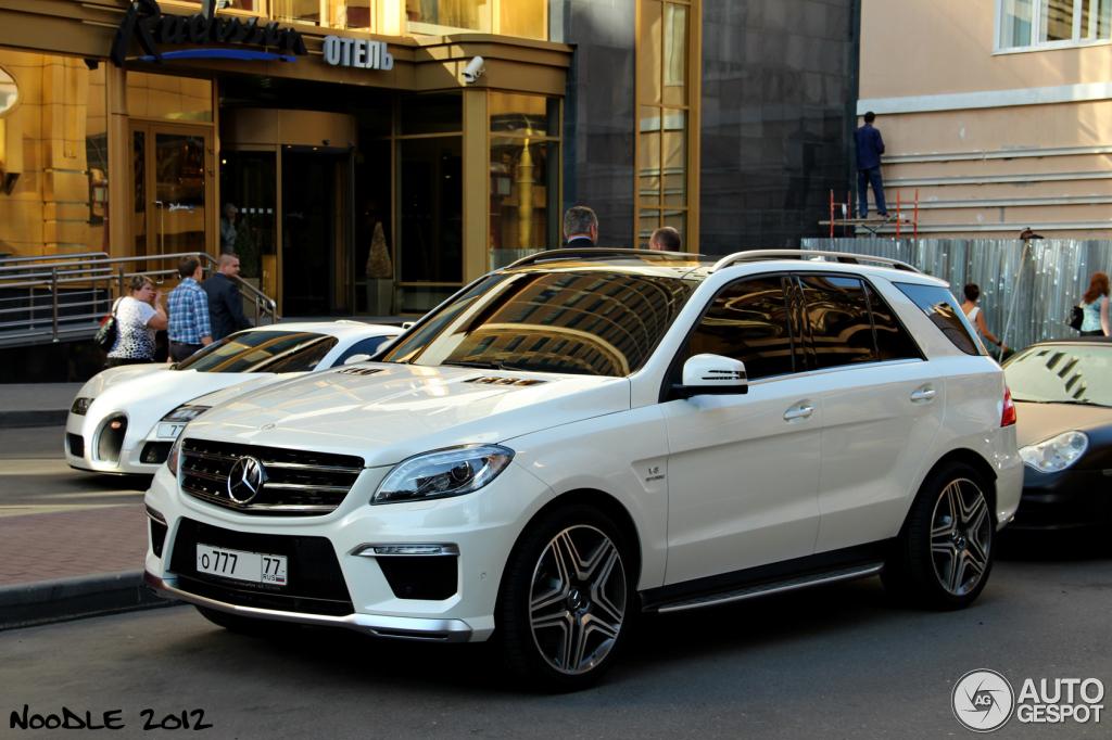 Mercedes Benz Ml 63 Amg W166 21 184 238 221 236 2012 Autogespot