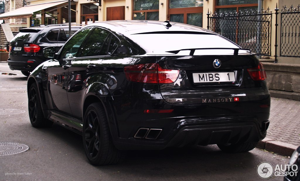 Bmw Mansory X6 M 25 Juni 2012 Autogespot
