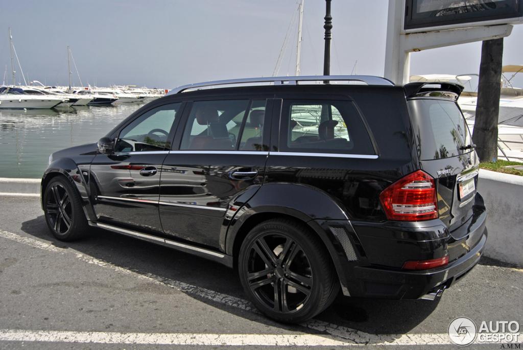 MercedesBenz Brabus GL 63 Biturbo  25 June 2012  Autogespot