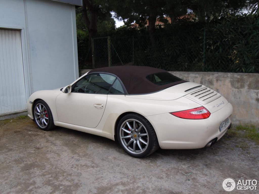 porsche 997 carrera s cabriolet mkii 26 juin 2012 autogespot. Black Bedroom Furniture Sets. Home Design Ideas
