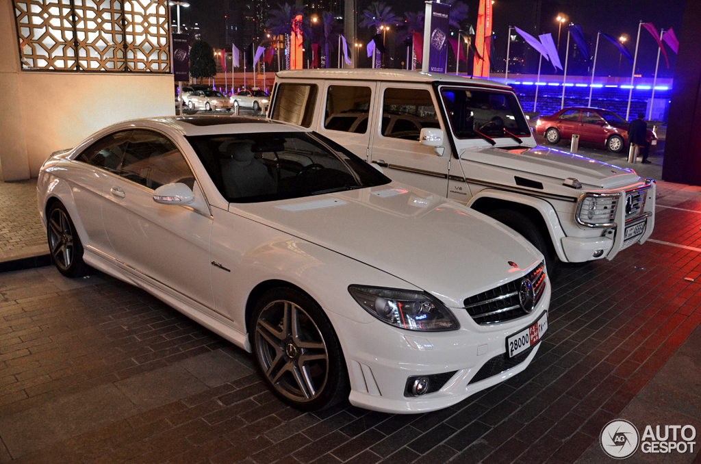 Mercedes-Benz CL 63 AMG C216 1