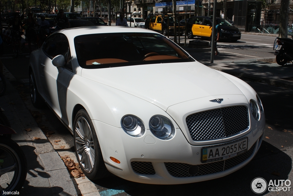 Bentley Continental GT Speed 3