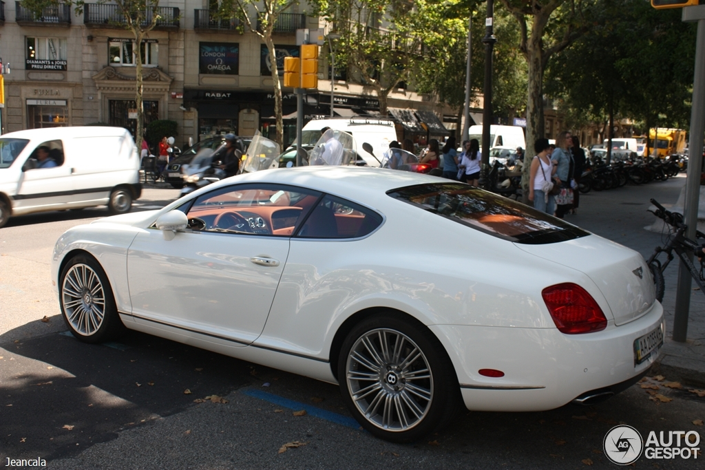 Bentley Continental GT Speed 5