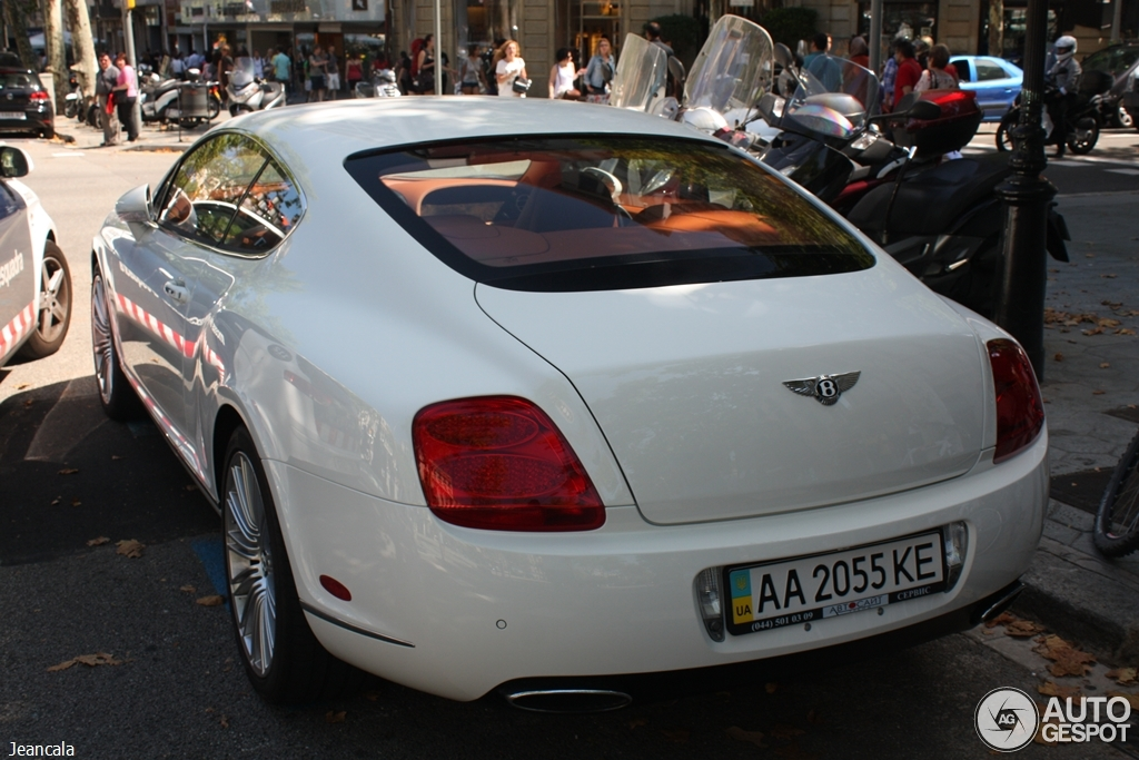 Bentley Continental GT Speed 6