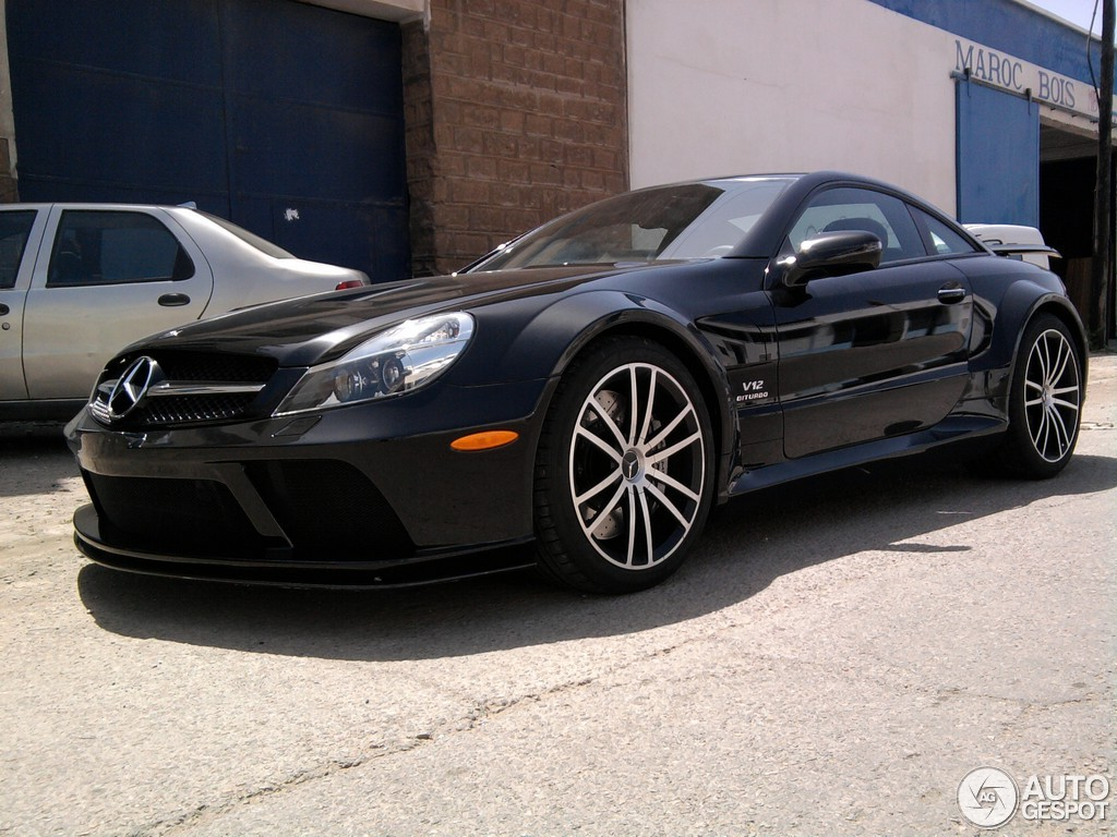 Mercedes-Benz SL 65 AMG Black Series 3