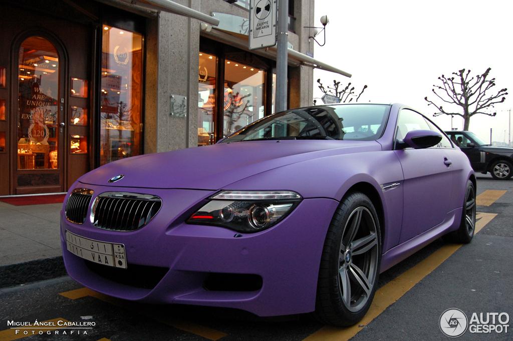 BMW M6 E63 1