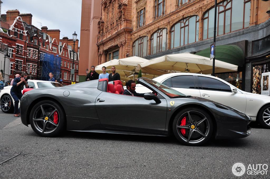 Ferrari 458 Spider 19 July 2012 Autogespot