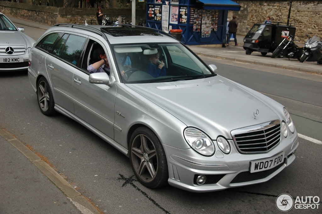 mercedes benz e 63 amg combi 20 july 2012 autogespot. Black Bedroom Furniture Sets. Home Design Ideas