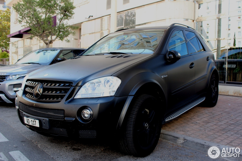 Mercedes Benz Ml 63 Amg W164 27 July 2012 Autogespot