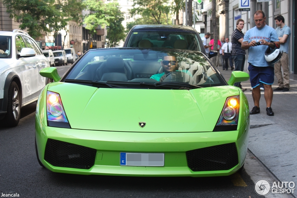 1 i lamborghini gallardo spyder 1 - Lamborghini Gallardo Spyder Green