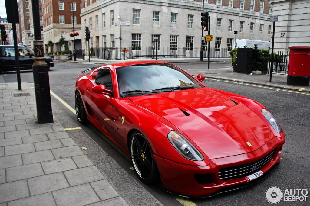 Ferrari 599 GTB Fiorano Novitec Rosso 1