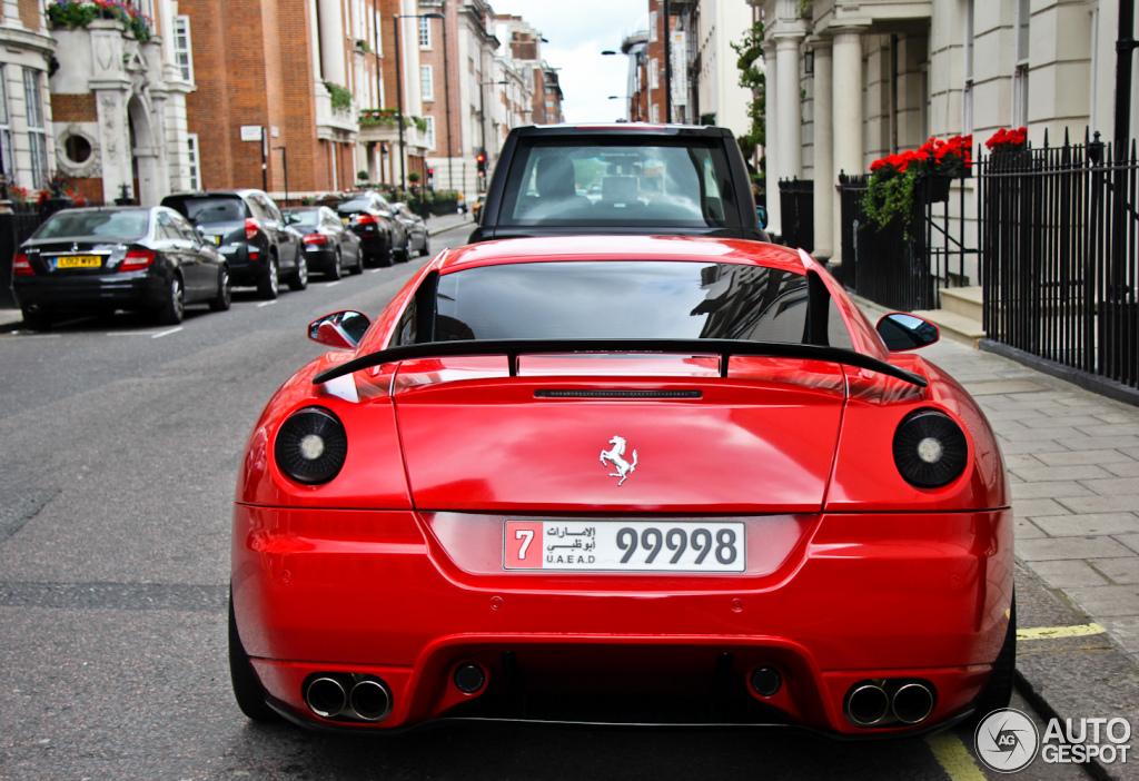 Ferrari 599 GTB Fiorano Novitec Rosso 5