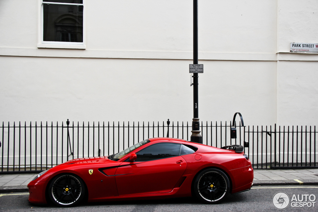 Ferrari 599 GTB Fiorano Novitec Rosso 6