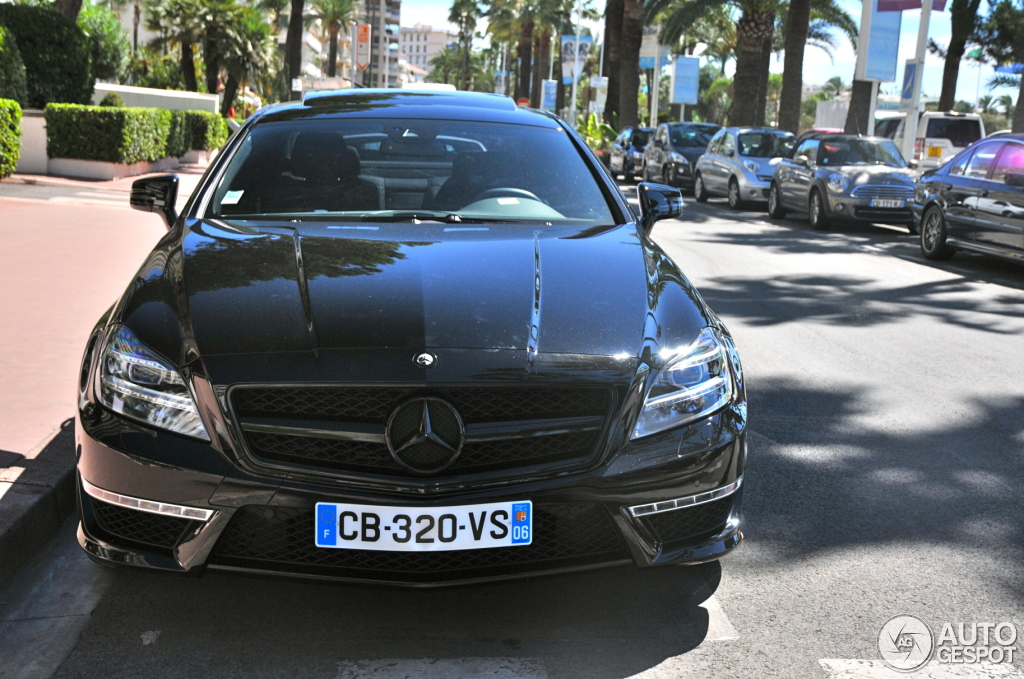 Mercedes Benz Cls 63 Amg C218 Stealth Gsc 1 September 2012 Autogespot