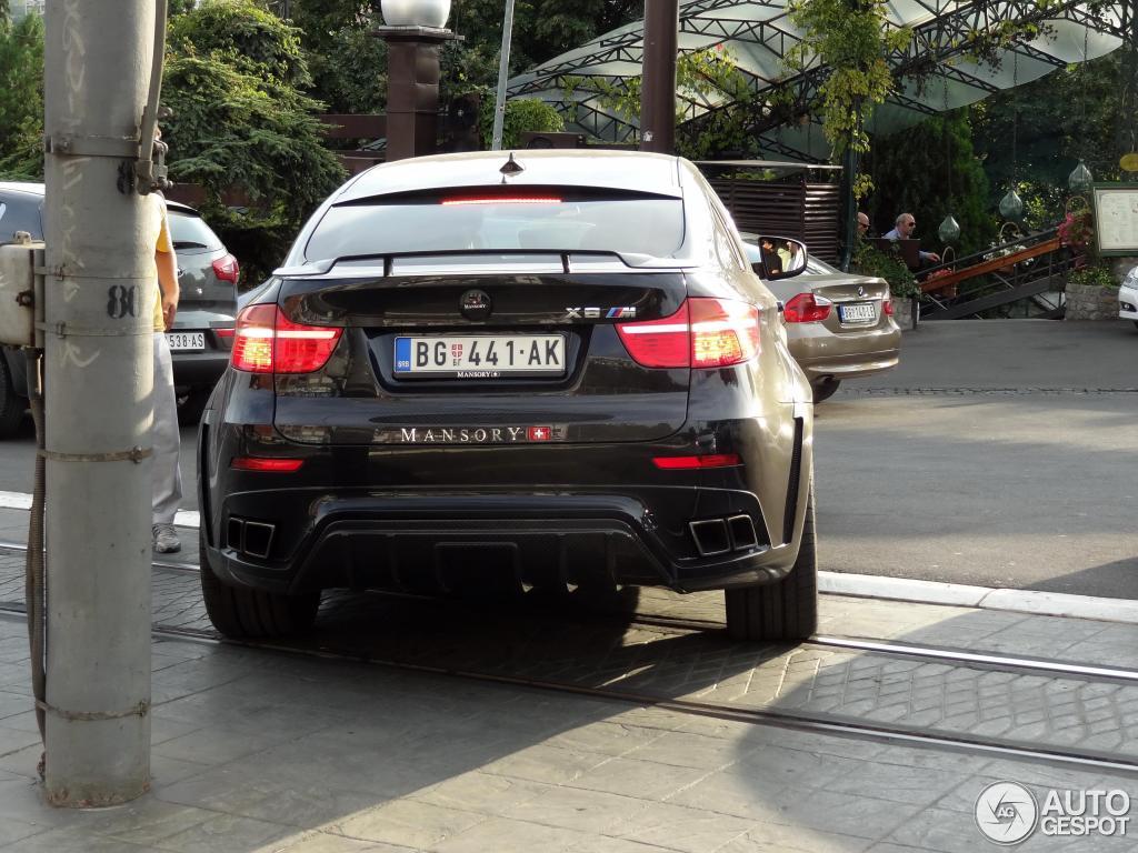 Bmw Mansory X6 M 17 September 2012 Autogespot
