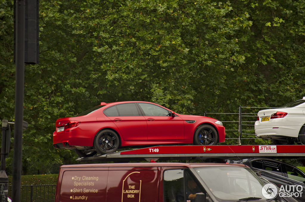 BMW M5 F10 M Performance Edition - 29 September 2012 - Autogespot