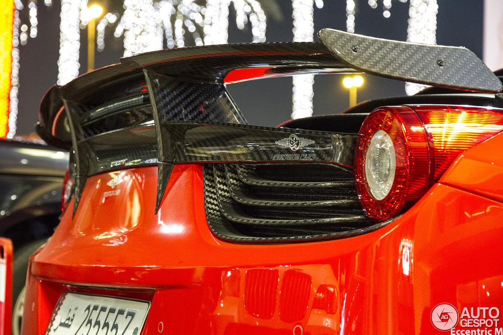 Ferrari 458 Italia Mansory Siracusa 4