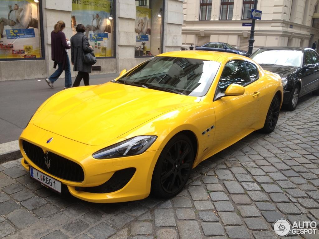 Maserati GranTurismo Sport - 4 October 2012 - Auspot