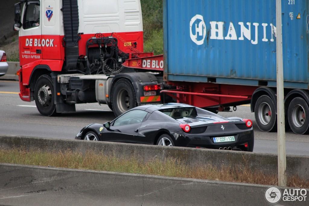 Ferrari 458 Spider 12 Oktober 2012 Autogespot