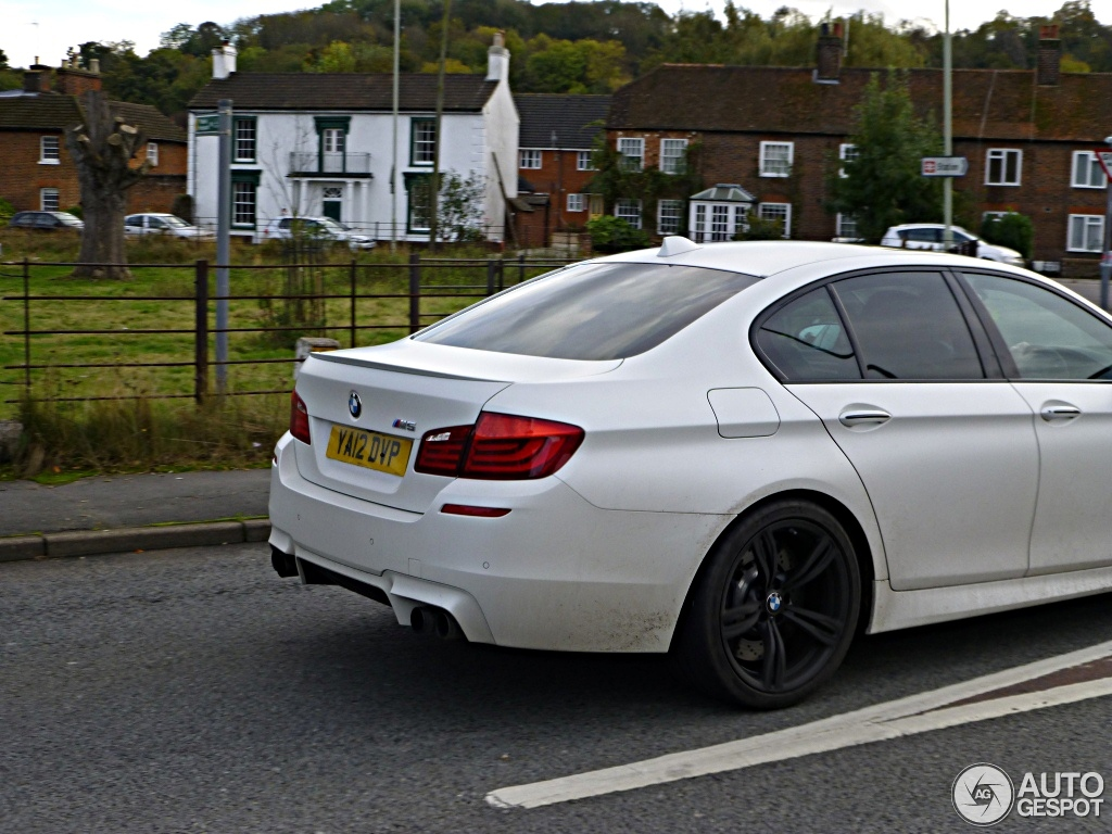 BMW M5 F10 M Performance Edition - 18 October 2012 - Autogespot